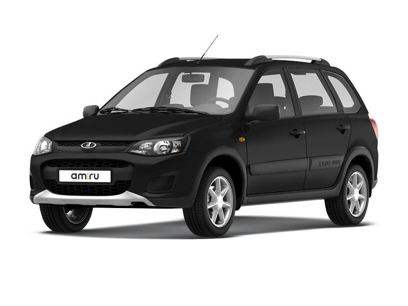 Новый авто ВАЗ (Lada) Kalina, черный , 2017 года выпуска, цена 524 100 руб. в автосалоне  ()