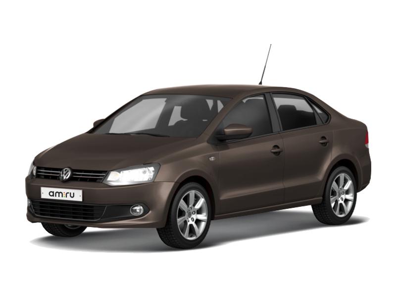 Подержанный Volkswagen Polo, отличное состояние, коричневый металлик, 2015 года выпуска, цена 650 000 руб. в Костромской области
