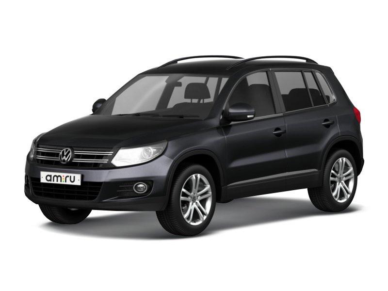Новый авто Volkswagen Tiguan, черный металлик, 2016 года выпуска, цена 1 482 490 руб. в автосалоне ИнтерАвто (Рязань, ш. Московское, д. 24А)