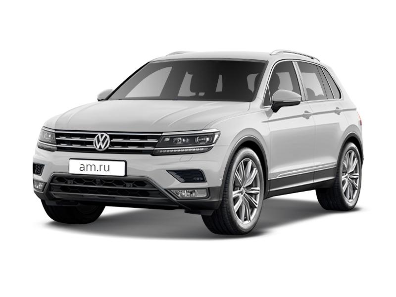 Новый авто Volkswagen Tiguan, белый , 2017 года выпуска, цена 1 544 800 руб. в автосалоне ИнтерАвто (Рязань, ш. Московское, д. 24А)