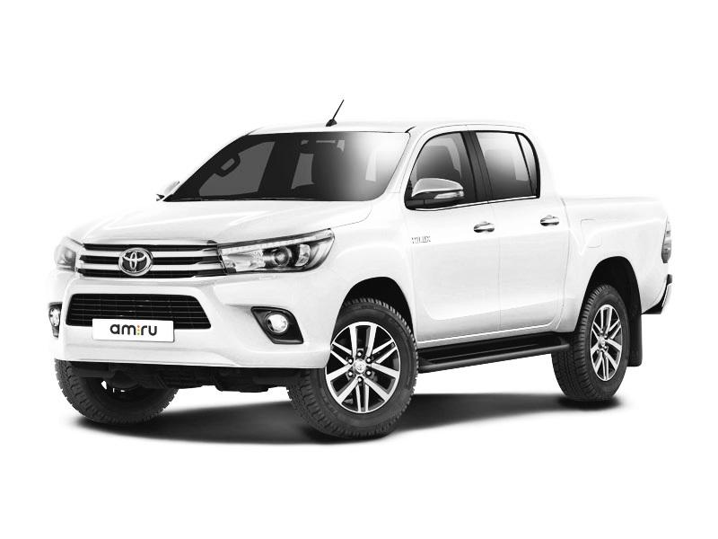 Новый авто Toyota Hilux, белый матовый, 2017 года выпуска, цена 2 267 000 руб. в автосалоне  ()