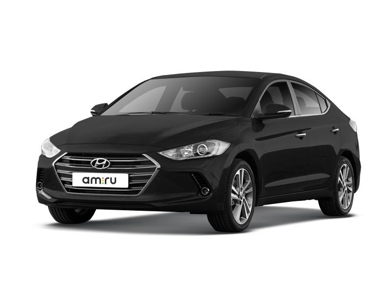 Новый авто Hyundai Elantra, черный металлик, 2016 года выпуска, цена 994 900 руб. в автосалоне ОренРольф (Оренбург, ул. Волгоградская, д. 5)