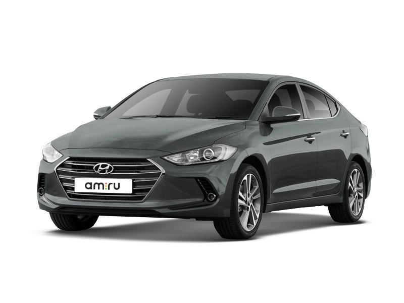 Новый авто Hyundai Elantra, серый , 2017 года выпуска, цена 1 155 000 руб. в автосалоне Евразия плюс (Омск, ул. Димитрова, д. 75)