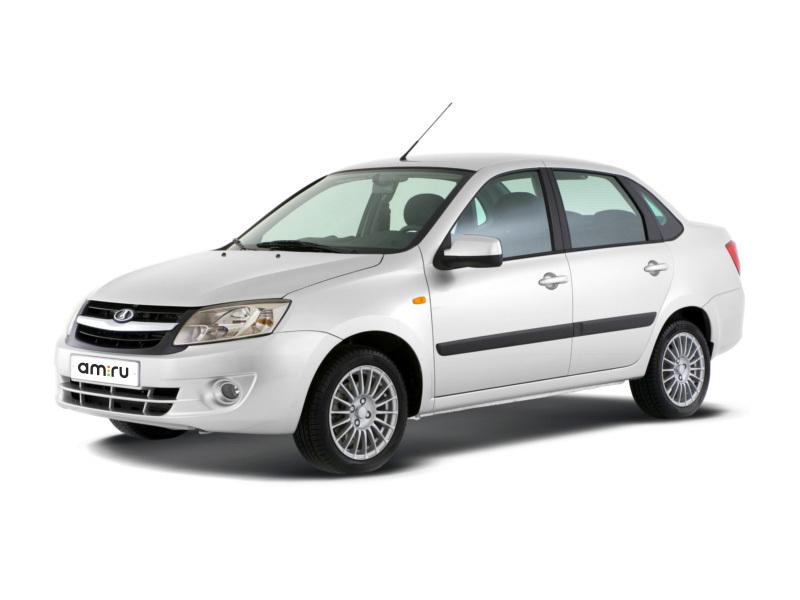 Новый авто ВАЗ (Lada) Granta, белый , 2017 года выпуска, цена 425 600 руб. в автосалоне  ()