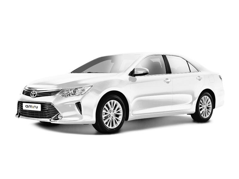 Новый авто Toyota Camry, белый матовый, 2017 года выпуска, цена 2 035 000 руб. в автосалоне Тойота Центр Курск (Курск, пр-кт Победы, д. 9)