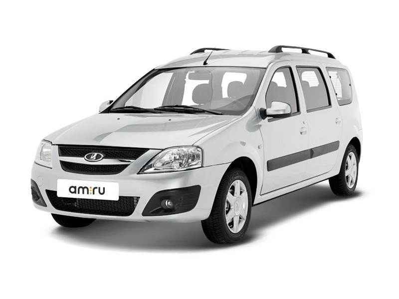 Подержанный ВАЗ (Lada) Largus, отличное состояние, белый , 2013 года выпуска, цена 400 000 руб. в Челябинской области