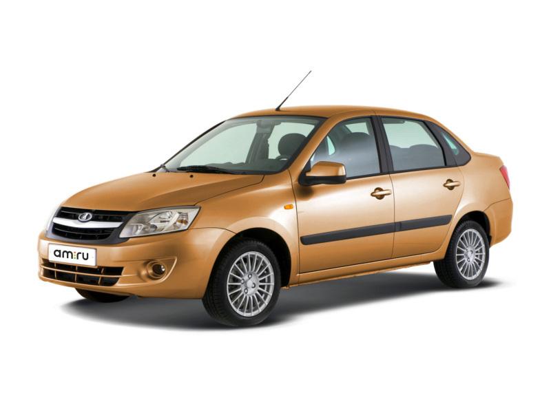 ВАЗ (Lada) Granta с пробегом, оранжевый металлик, отличное состояние, 2016 года выпуска, цена 384 000 руб. в автосалоне  ()