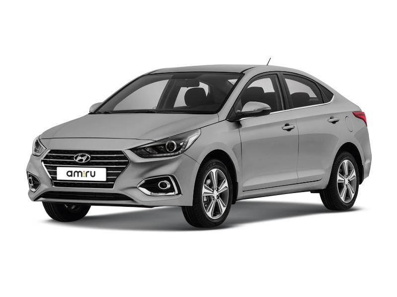 Новый авто Hyundai Solaris, серый металлик, 2017 года выпуска, цена 839 900 руб. в автосалоне Автомир Hyundai Новокузнецк (Новокузнецк, ул. Рудокопровая, д. 22А)