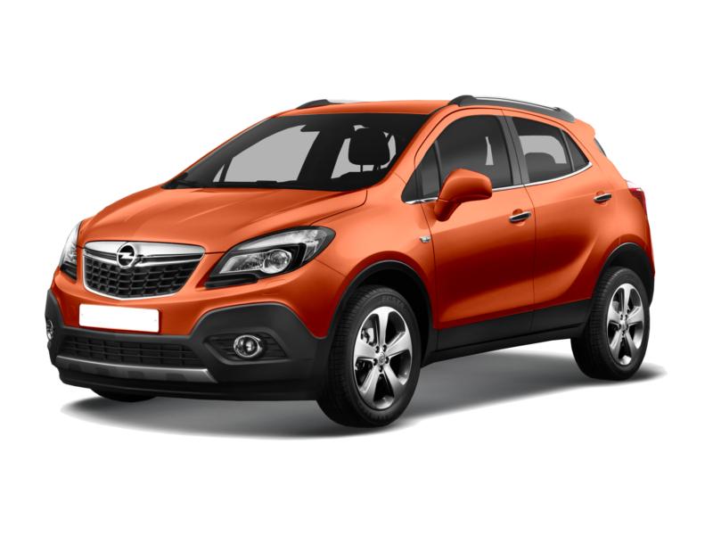 Подержанный Opel Mokka, отличное состояние, оранжевый металлик, 2014 года выпуска, цена 960 000 руб. в республике Татарстане