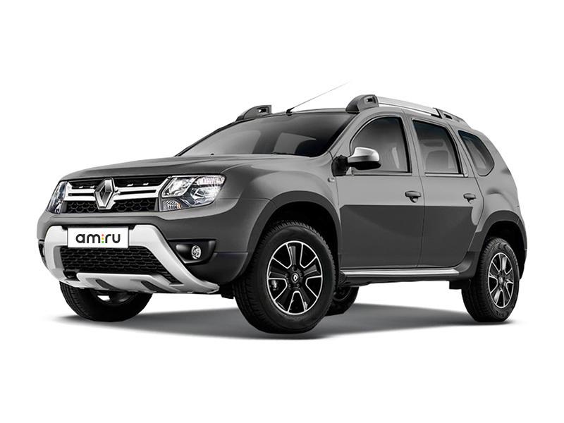 Новый авто Renault Duster, серый металлик, 2017 года выпуска, цена 784 970 руб. в автосалоне Автомир Renault Сургут (Сургут, ул. Маяковского, д. 42)