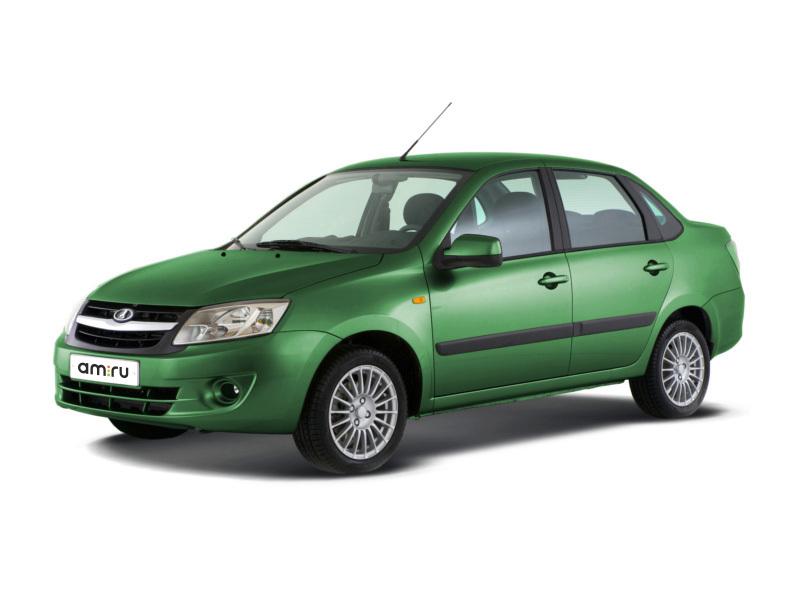 Новый авто ВАЗ (Lada) Granta, зеленый , 2017 года выпуска, цена 462 700 руб. в автосалоне Симбирск-Лада (Ульяновск, пр-кт Созидателей, д. 27)