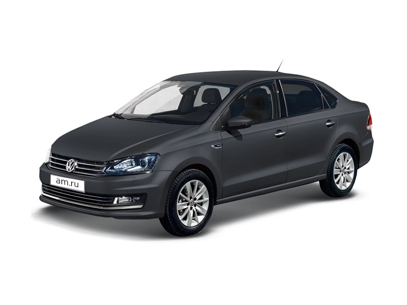Новый авто Volkswagen Polo, серый , 2017 года выпуска, цена 757 890 руб. в автосалоне Фольксваген Центр Макон Авто (Тверь, пр-кт 50 лет Октября, д. 5)