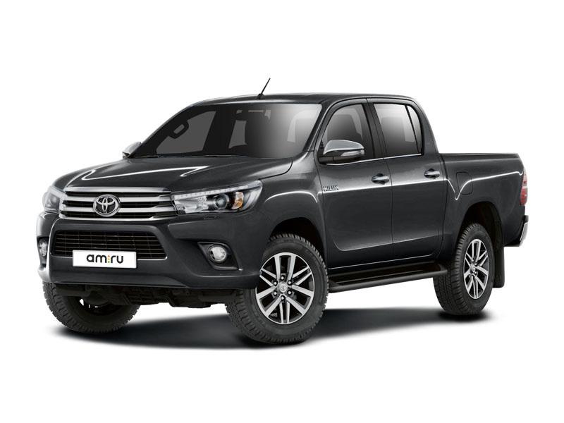 Новый авто Toyota Hilux, серый металлик, 2017 года выпуска, цена 2 553 000 руб. в автосалоне Тойота Центр Курск (Курск, пр-кт Победы, д. 9)