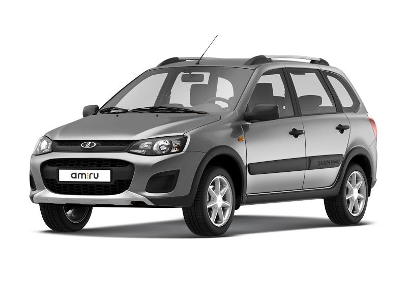 Новый авто ВАЗ (Lada) Kalina, серебряный , 2017 года выпуска, цена 541 000 руб. в автосалоне  ()