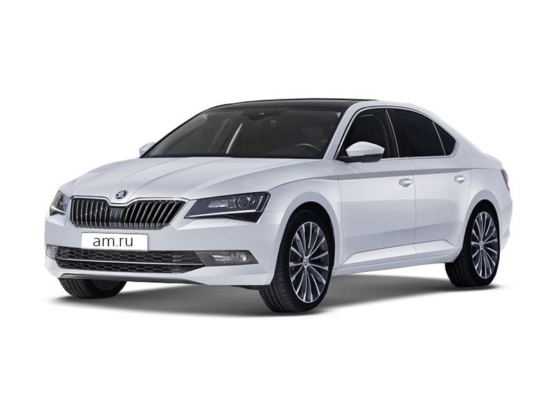 Новый авто Skoda Superb, белый металлик, 2017 года выпуска, цена 1 899 900 руб. в автосалоне АвтоЕвразия (Оренбург, ул. Транспортная, д. 2/2)