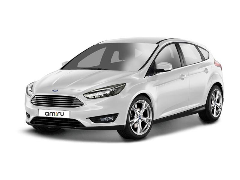 Новый авто Ford Focus, белый , 2017 года выпуска, цена 966 000 руб. в автосалоне Форд Центр Рязань (Рязань, ш. Куйбышевское, д. 29)