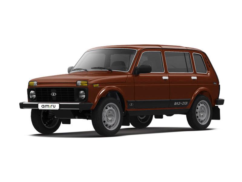 Новый авто ВАЗ (Lada) 4x4, коричневый металлик, 2017 года выпуска, цена 603 900 руб. в автосалоне  ()