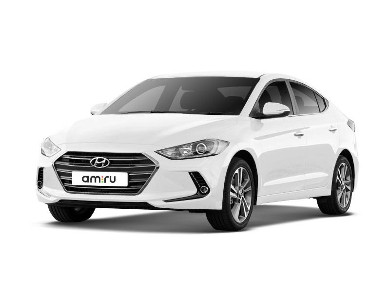 Новый авто Hyundai Elantra, белый , 2017 года выпуска, цена 1 065 000 руб. в автосалоне Евразия плюс (Омск, ул. Димитрова, д. 75)
