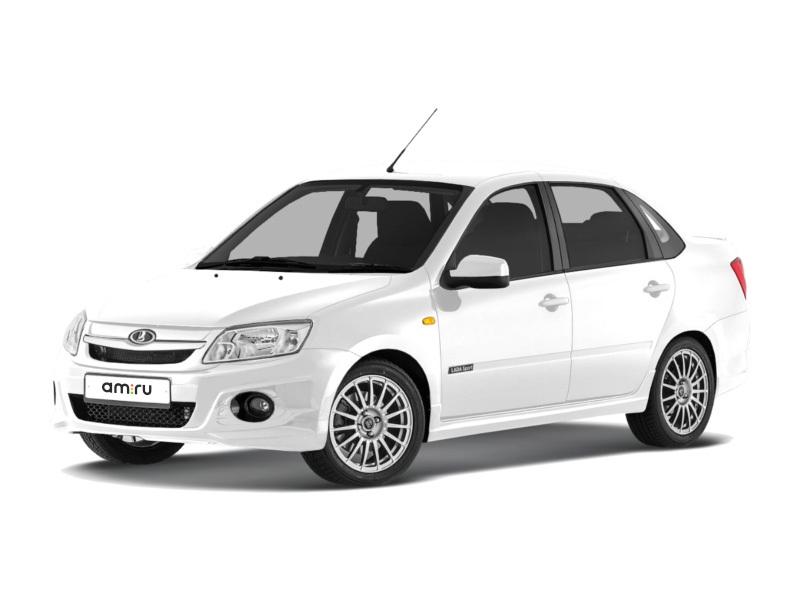 Новый авто ВАЗ (Lada) Granta, белый , 2017 года выпуска, цена 534 900 руб. в автосалоне  ()