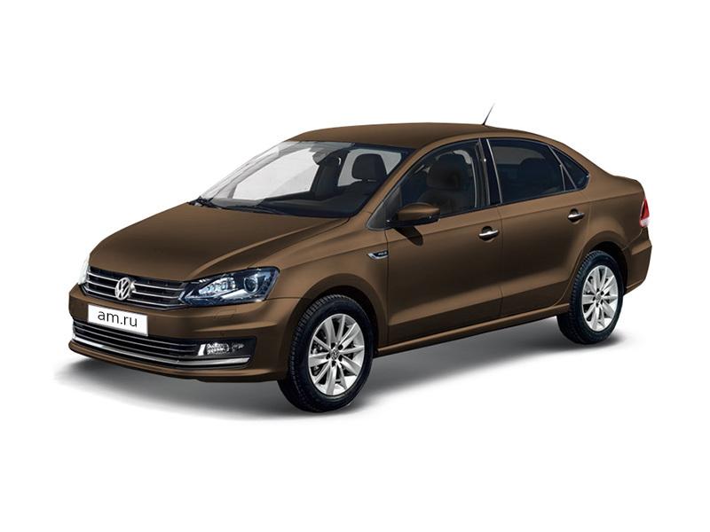 Новый авто Volkswagen Polo, коричневый металлик, 2017 года выпуска, цена 791 480 руб. в автосалоне  ()