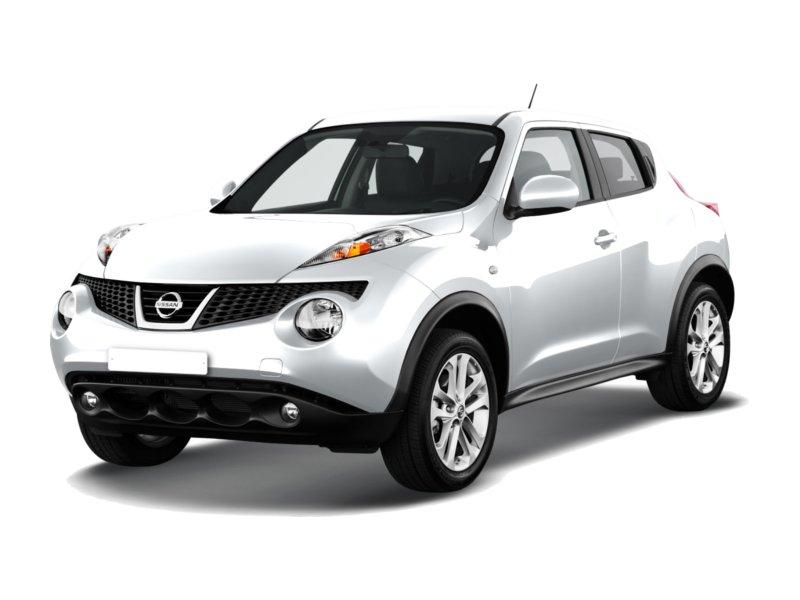 Подержанный Nissan Juke, хорошее состояние, белый , 2013 года выпуска, цена 730 000 руб. в ао. Ханты-Мансийском Автономном округе - Югре