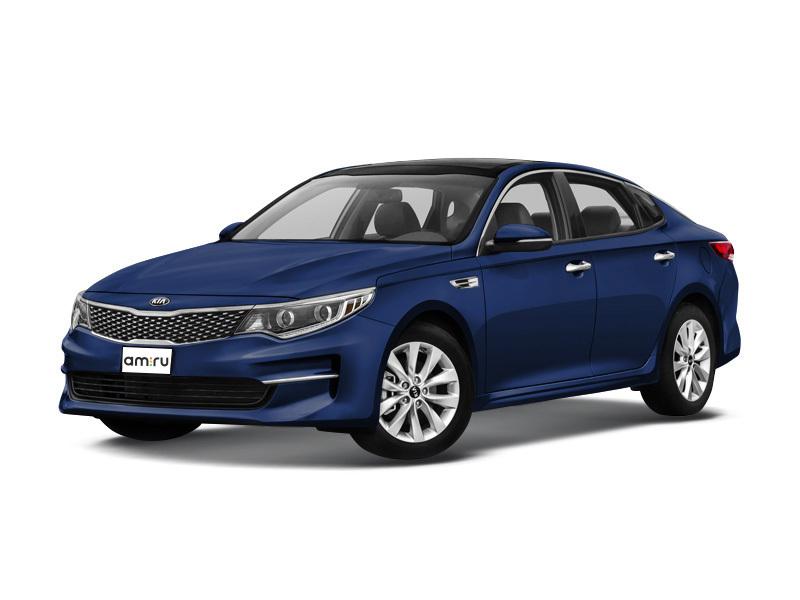 Новый авто Kia Optima, синий металлик, 2017 года выпуска, цена 1 479 900 руб. в автосалоне Псков Авто (Псков, проезд Гаражный, д. 8)