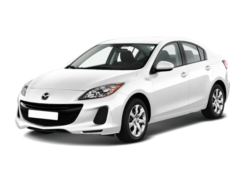 Подержанный Mazda 3, отличное состояние, белый , 2012 года выпуска, цена 750 000 руб. в Челябинской области