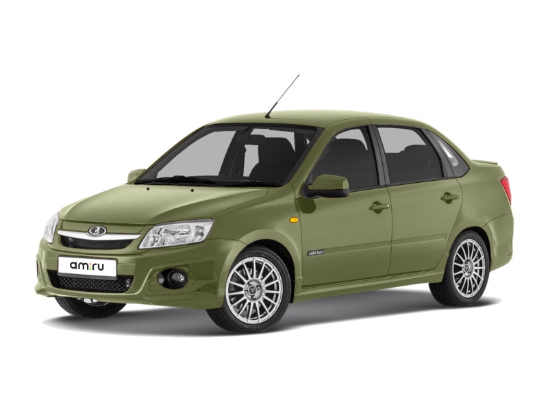 Новый авто ВАЗ (Lada) Granta, зеленый , 2017 года выпуска, цена 478 600 руб. в автосалоне РУМОС Lada (Тверь, автодорога Москва — Санкт-Петербург, 165 км)