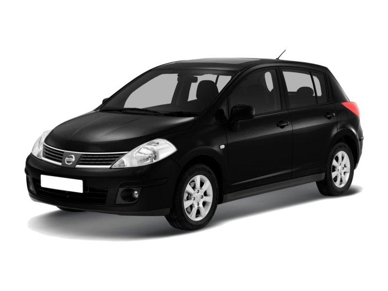 Подержанный Nissan Tiida, отличное состояние, черный металлик, 2011 года выпуска, цена 555 000 руб. в Нижнем Новгороде