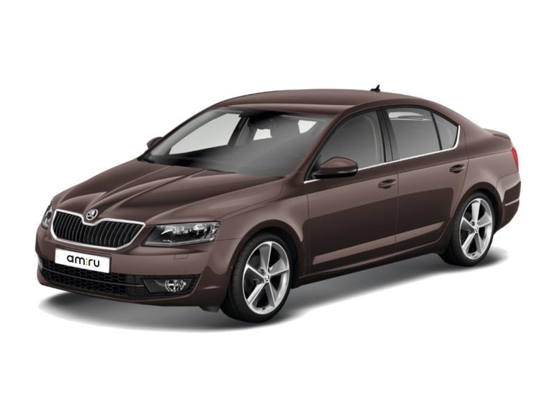 Новый авто Skoda Octavia, коричневый металлик, 2017 года выпуска, цена 1 182 700 руб. в автосалоне Интер Кар (Тверь, пр-кт 50 лет Октября, д. 5)