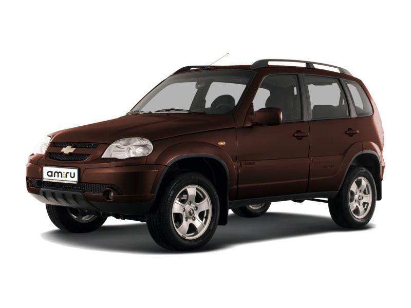 Новый авто Chevrolet Niva, коричневый металлик, 2016 года выпуска, цена 617 000 руб. в автосалоне  ()