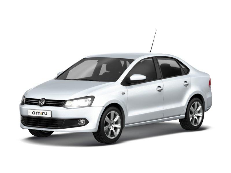 Подержанный Volkswagen Polo, отличное состояние, серебряный металлик, 2012 года выпуска, цена 480 000 руб. в республике Татарстане