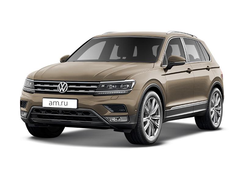 Новый авто Volkswagen Tiguan, бежевый металлик, 2017 года выпуска, цена 1 709 700 руб. в автосалоне Фольксваген Центр Макон Авто (Тверь, пр-кт 50 лет Октября, д. 5)