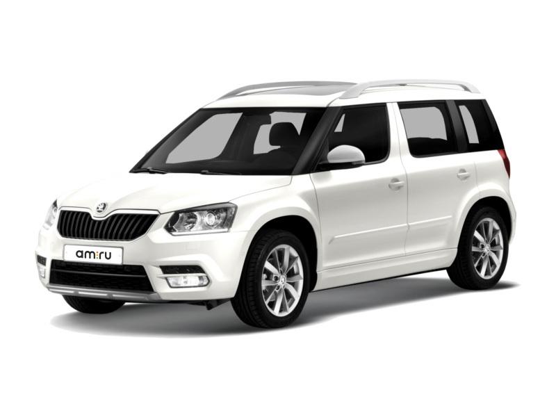 Новый авто Skoda Yeti, белый , 2017 года выпуска, цена 1 556 800 руб. в автосалоне АвтоЕвразия (Оренбург, ул. Транспортная, д. 2/2)