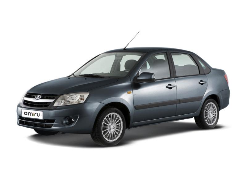 Новый авто ВАЗ (Lada) Granta, серый , 2017 года выпуска, цена 462 700 руб. в автосалоне АВТОГРУП КРЫМ (Симферополь, ш. Московское, 5 км)