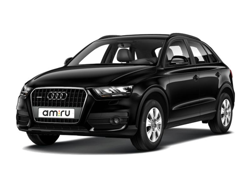 Подержанный Audi Q3, отличное состояние, черный металлик, 2013 года выпуска, цена 1 350 000 руб. в ао. Ханты-Мансийском Автономном округе - Югре