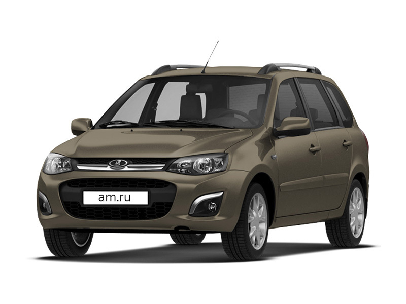 Новый авто ВАЗ (Lada) Kalina, коричневый , 2017 года выпуска, цена 488 500 руб. в автосалоне  ()