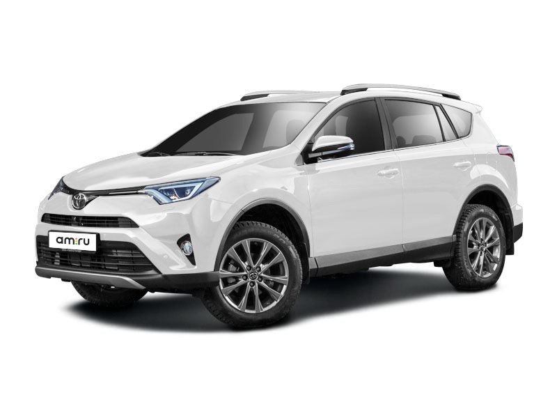 Новый авто Toyota RAV4, белый матовый, 2017 года выпуска, цена 2 083 500 руб. в автосалоне Тойота Центр Курск (Курск, пр-кт Победы, д. 9)