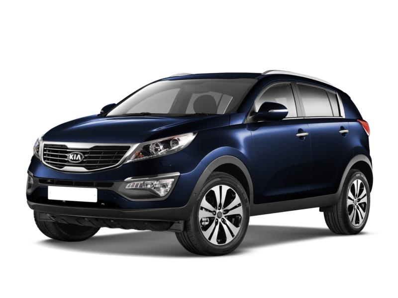 Подержанный Kia Sportage, отличное состояние, синий , 2011 года выпуска, цена 980 000 руб. в ао. Ханты-Мансийском Автономном округе - Югре