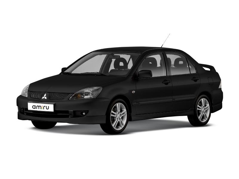 Подержанный Mitsubishi Lancer, отличное состояние, черный металлик, 2007 года выпуска, цена 290 000 руб. в Тверской области