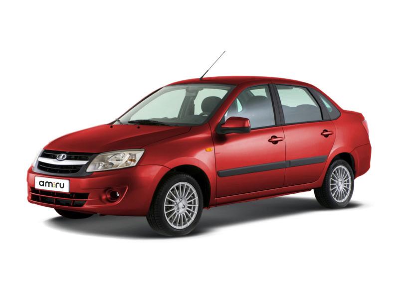 ВАЗ (Lada) Granta с пробегом, красный , отличное состояние, 2013 года выпуска, цена 220 000 руб. в автосалоне  ()