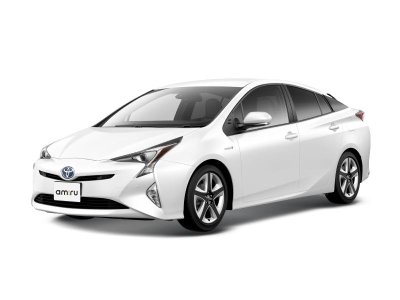 Новый авто Toyota Prius, белый акрил, 2017 года выпуска, цена 2 144 000 руб. в автосалоне Тойота Центр Оренбург (Оренбург, ш. Загородное, д. 13)