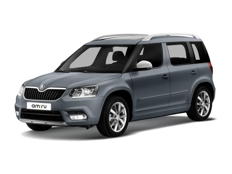Новый авто Skoda Yeti, серый металлик, 2017 года выпуска, цена 1 346 700 руб. в автосалоне АвтоЕвразия (Оренбург, ул. Транспортная, д. 2/2)