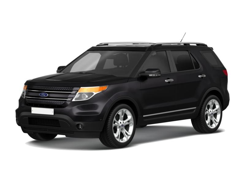 Подержанный Ford Explorer, отличное состояние, черный металлик, 2012 года выпуска, цена 1 250 000 руб. в Ульяновской области