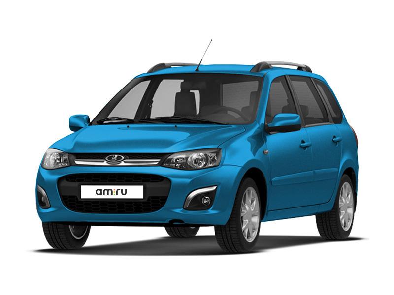 Новый авто ВАЗ (Lada) Kalina, синий металлик, 2017 года выпуска, цена 488 500 руб. в автосалоне  ()