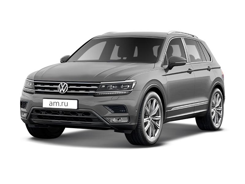 Новый авто Volkswagen Tiguan, серебряный металлик, 2017 года выпуска, цена 1 676 900 руб. в автосалоне  ()