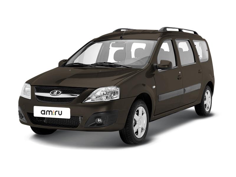Новый авто ВАЗ (Lada) Largus, коричневый , 2017 года выпуска, цена 620 400 руб. в автосалоне Волжский Лада (Волжский, пр-кт. Ленина, д. 310)