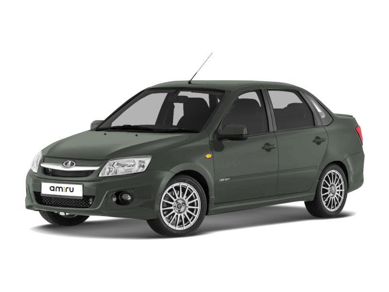 Новый авто ВАЗ (Lada) Granta, серый , 2017 года выпуска, цена 592 000 руб. в автосалоне Елабуга (Елабуга, ул. Баки Урманче, д. 36А)