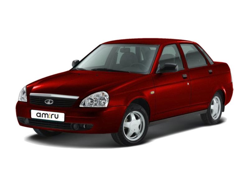 Подержанный ВАЗ (Lada) Priora, отличное состояние, бордовый перламутр, 2007 года выпуска, цена 220 000 руб. в республике Татарстане