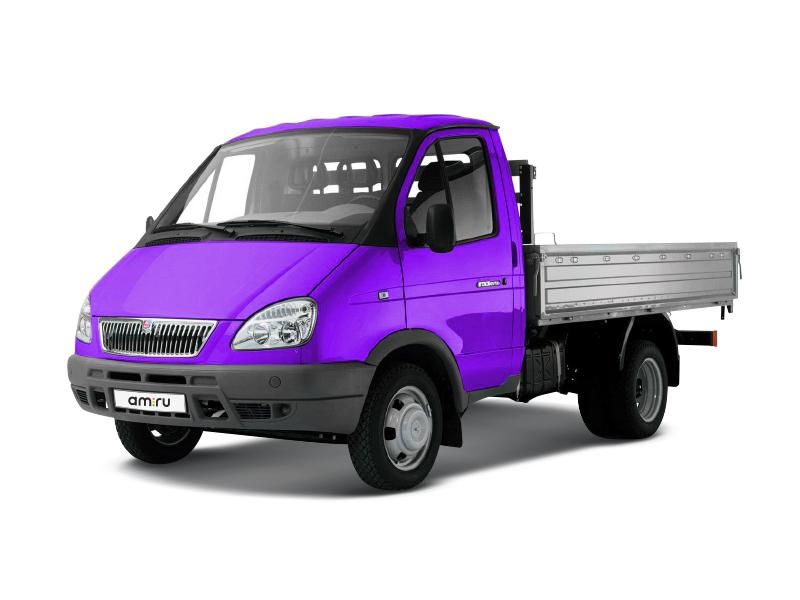 Подержанный ГАЗ Газель, среднее состояние, фиолетовый , 2007 года выпуска, цена 190 000 руб. в республике Татарстане